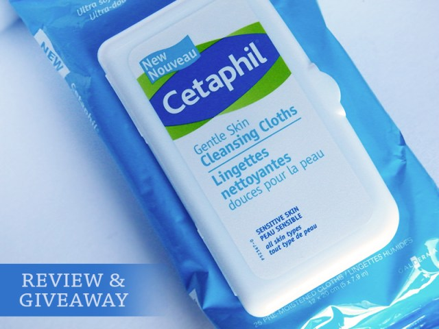 Cetaphil Gentle Cleansing Cloths Review & Giveaway