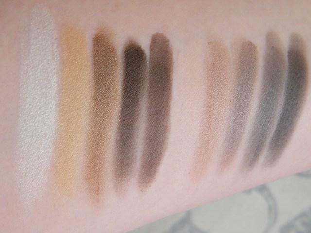 Annabelle Smokey Nudes Eyeshadow Palette Swatches Annabelle Smokey Nudes Eyeshadow Palette Swatches