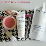 Ipsy Glambag August 2015 Unboxing