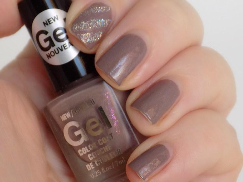 Mariposa Gel Purple Shimmer Nail Polish Day 10 Dollarama Canada