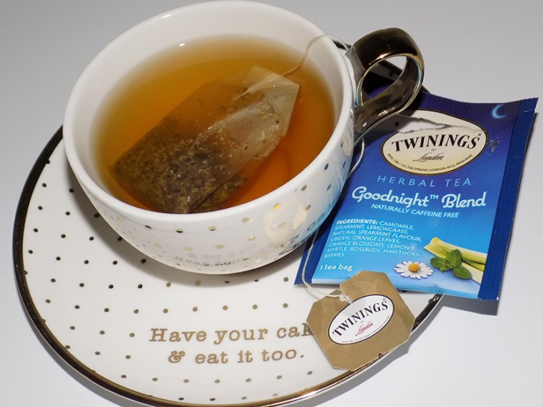 Twinings Herbal Tea Variety Review - Goodnight Blend Tea