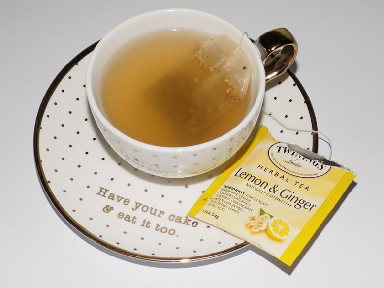 Twinings Herbal Tea Variety Review - Lemon Ginger Tea