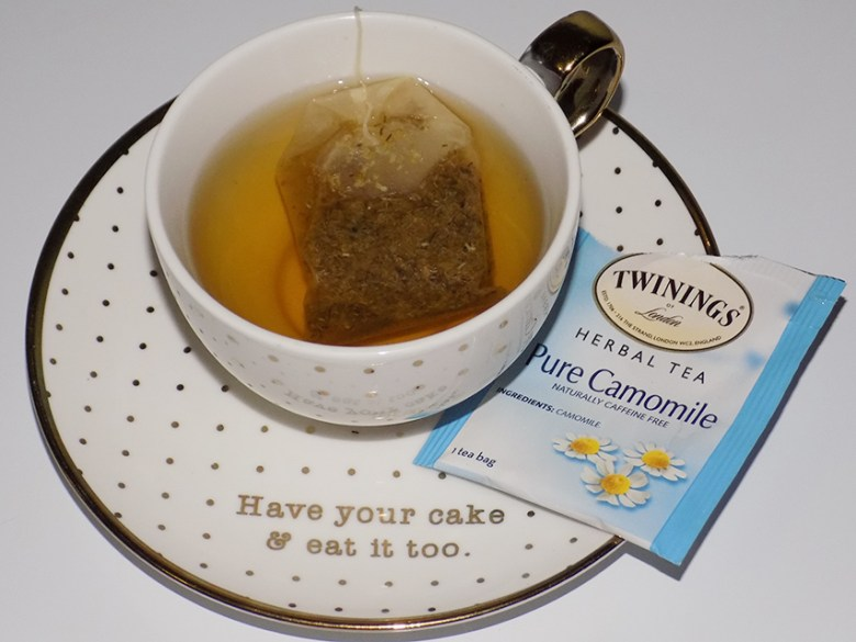 Twinings Herbal Tea Variety Review - Pure Camomile Tea