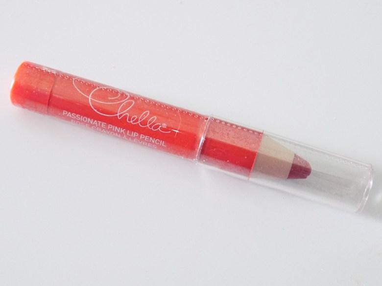 Ipsy Feb 2016 - chella passionate pink lip pencil