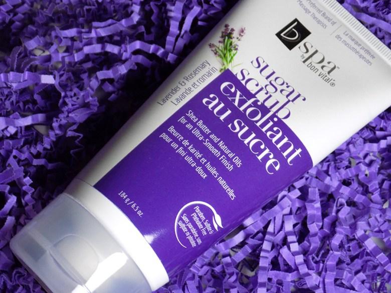 bvspa by bon vital sugar scrub lavender and rosemary shea butter shoppers drug mart