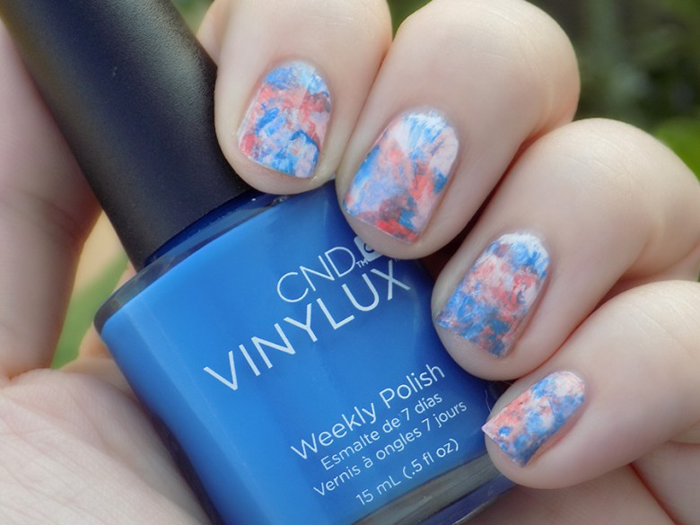 CND Vinylux Flirtation Smoosh Mani Swatch