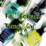 Avon Fall Colour Report: Green Nail Polishes