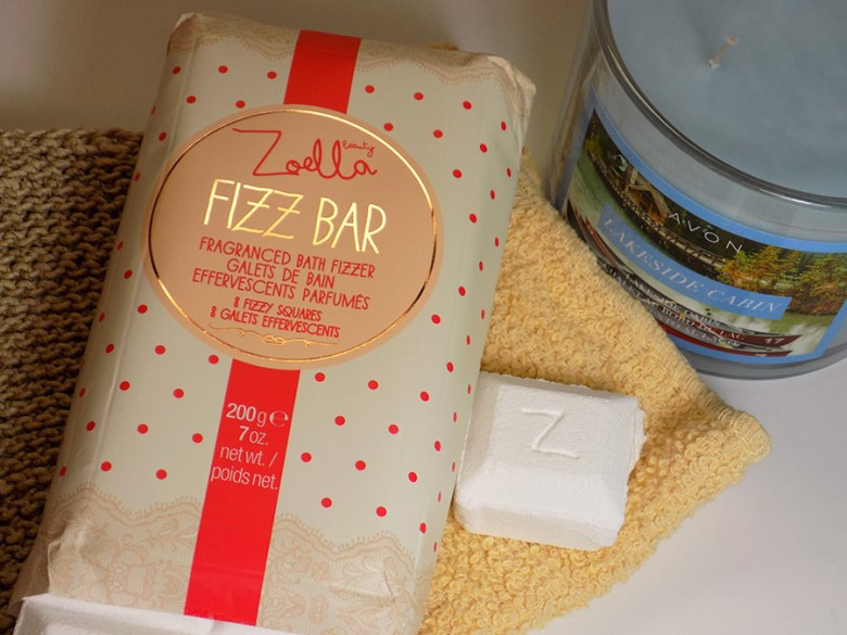 Zoella Fizz Bar Review - Avon Lakeside Cabin Candle