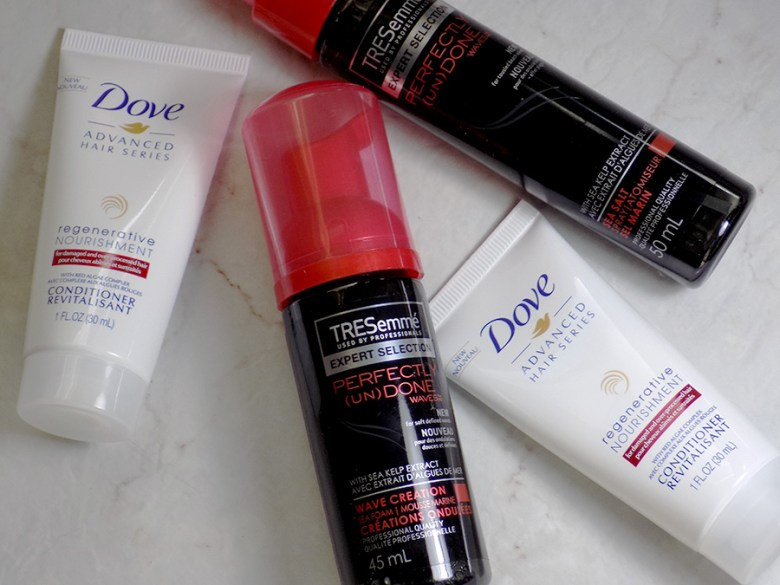 Topbox Unilever Trends Box - Dove and Tresemme Haircare