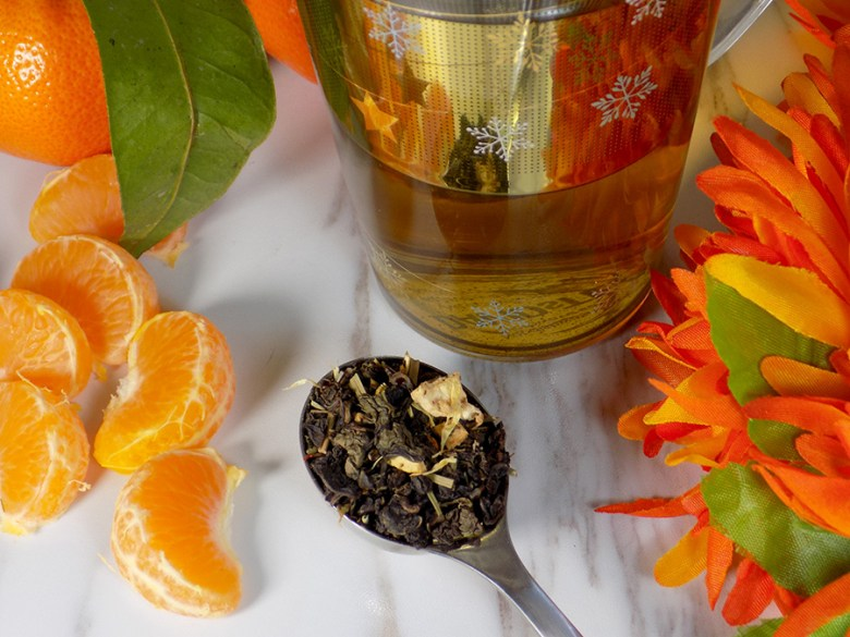 Bulk Barn Oolong Orange Tea Review - Loose Tea with Oranges