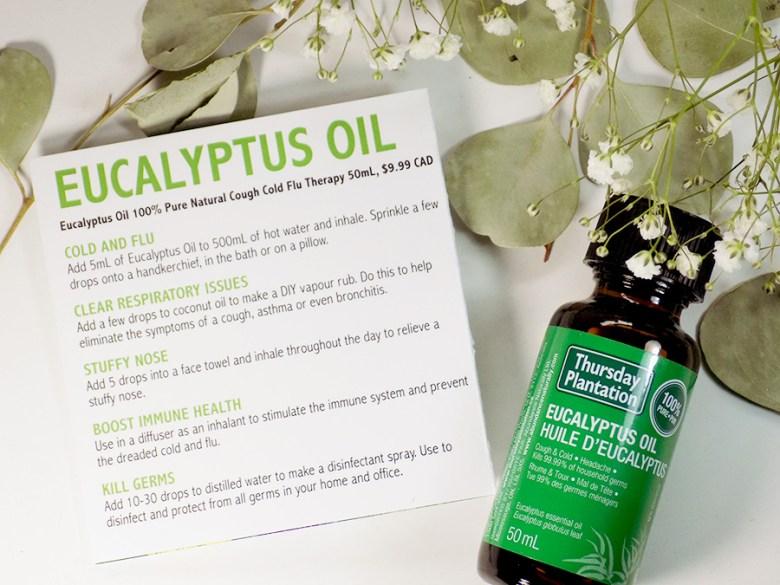 Thursday Plantation Eucalyptus Oil Uses