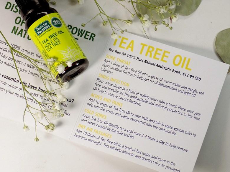 Thursday Plantation Tea Tree Oil Uses