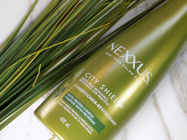 Nexxus City Shield Haircare Review - Conditioner