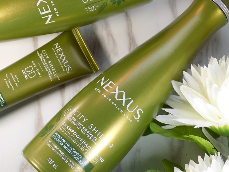 Nexxus City Shield Haircare Review - Shampoo