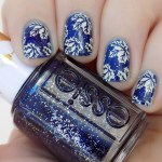 Toronto Maple Leafs Playoffs Nail Art
