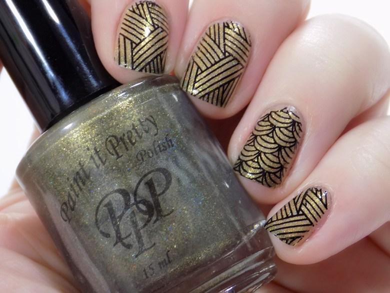 Born Pretty BP-L060 Swatches over Paint It Pretty Polish Izzy