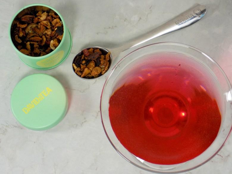 DavidsTea Sour Appletini Tea Review - 2017 Davids Tea Cocktail Collection Tea Reviews