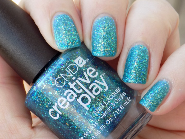 CND Creative Play Express Ur Em-oceans from Sunset Bash Collection - Swatch Shade