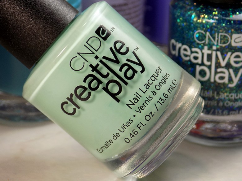 CND Creative Play Shady Palms from Sunset Bash Collection - Bottle Shot