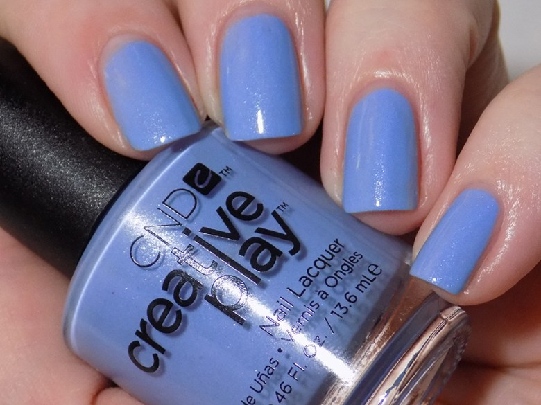 CND Creative Play Skymazing from Sunset Bash Collection - Swatch - Artificial Light
