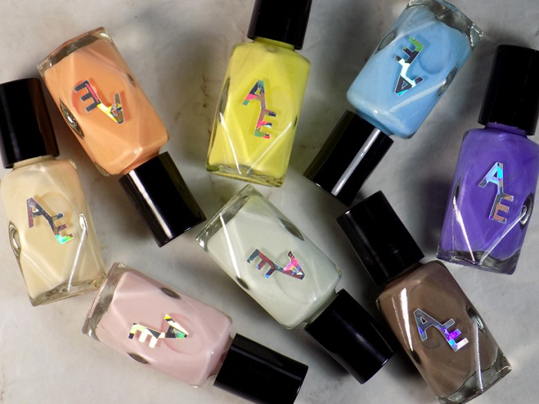Press Samples - Indie Expo Canada - Pastels Scream for Ice Creme Collection
