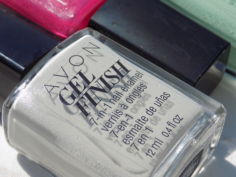 Avon Gel Finish Head In Clouds Nail Polish Review