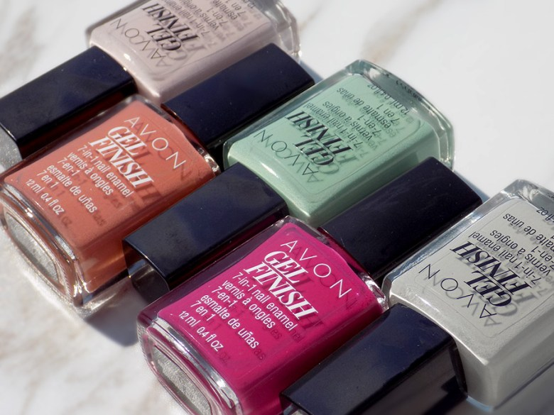 Avon New Gel Finish Polishes Summer-Fall 2017 - Rose Noir and More