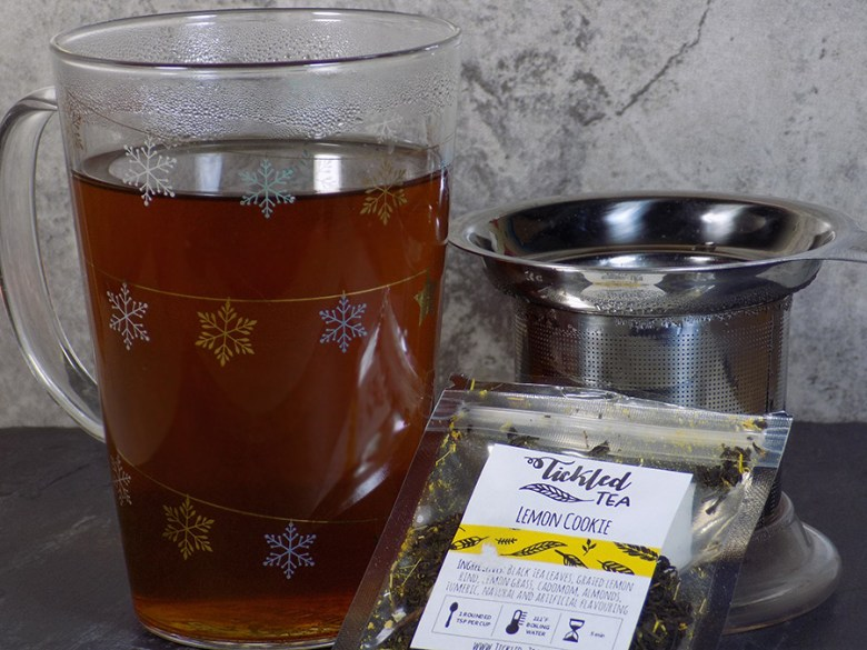 Ticked Tea Lemon Cookie Latte - Brewed