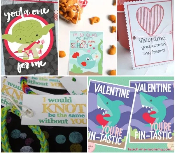 Free Printable Valentines - Teach Me Mommy