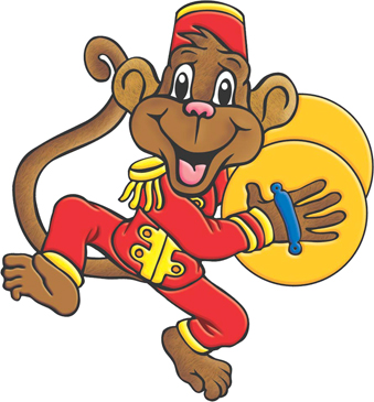 Circus Monkey Printable Clip Art and Images