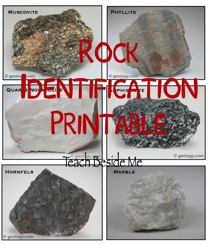 Identify Rocks With Kids \u2013 Teach Beside Me