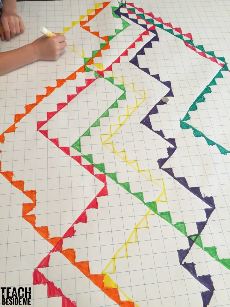 cool designs with graph paper