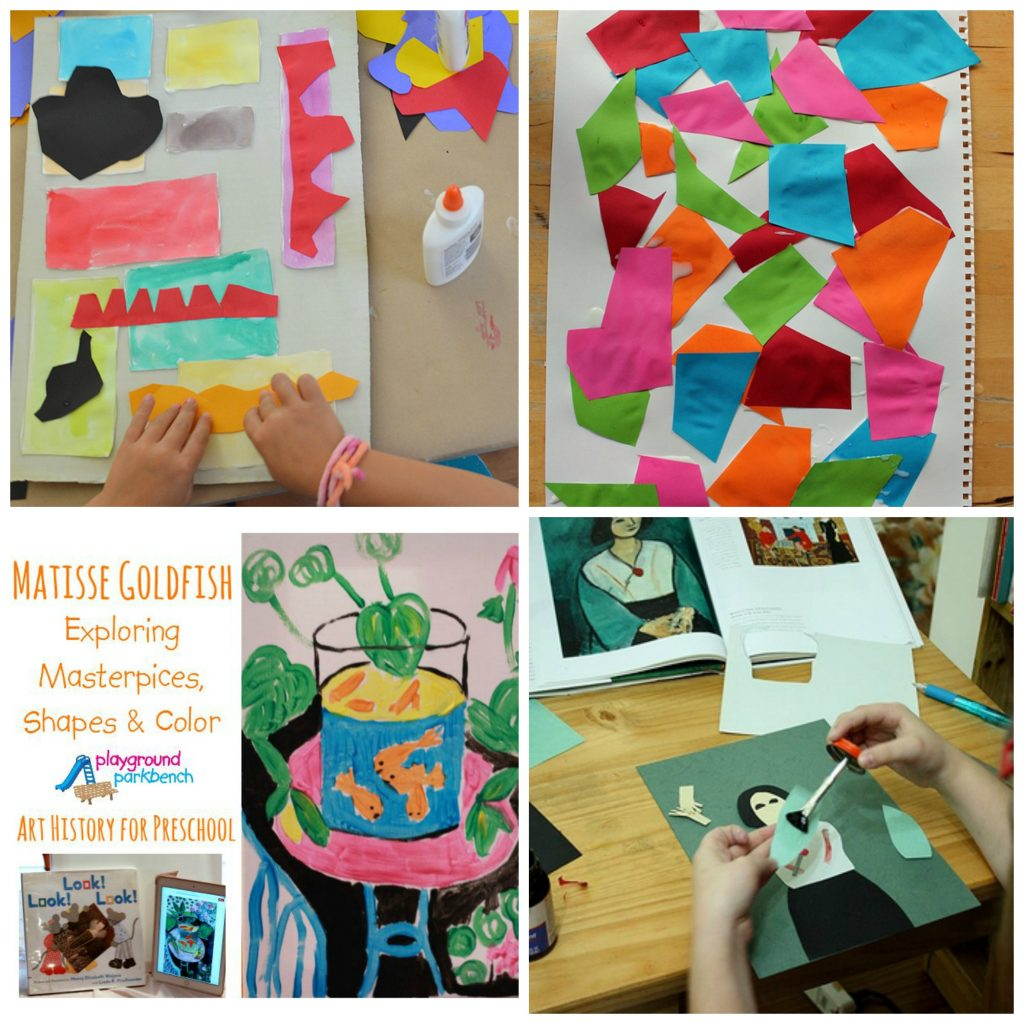 Art And Craft For Preschool 100 Fine Art Projects Inspired By Famous Artists Teach Beside Me