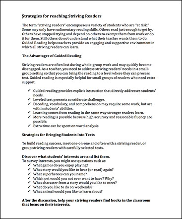 Guided Reading Resources Scholastic Guided Reading Program