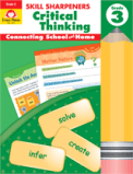 Image of Skill Sharpeners Critical Thinking activity book by Evan-Moor