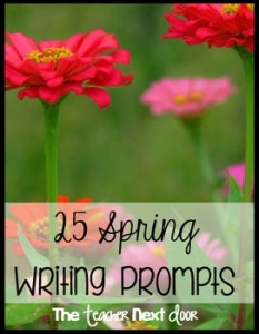 Spring-writing-prompts