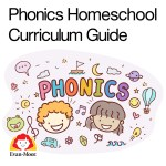 Phonics symbols with a little girl and boy.