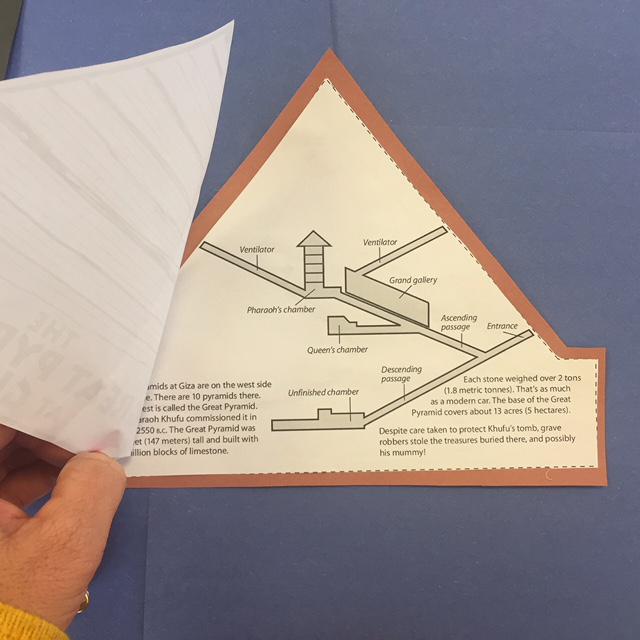 Pyramid at Giza for Ancient Egypt social studies writing reports