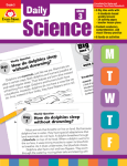 Daily science workbook