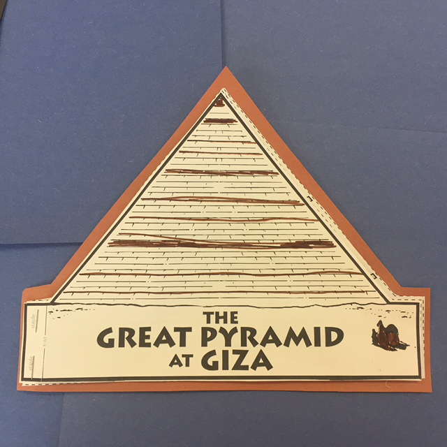 Pyramid at Giza writing project for Ancient Egypt reports