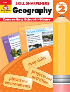 Skill Sharpeners Geography Book Cover