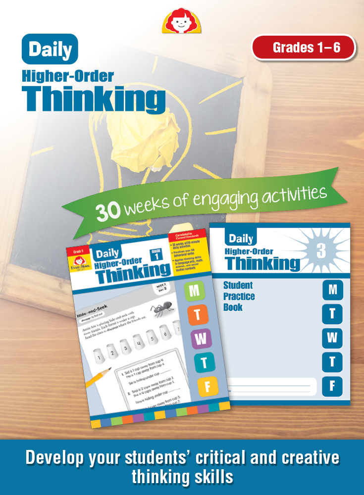 Daily Higher-Order Thinking pin