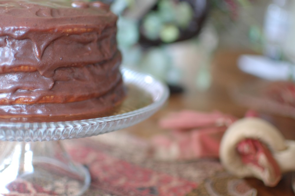 14 Layer Chocolate Cake for Valentine's Day (5/6)