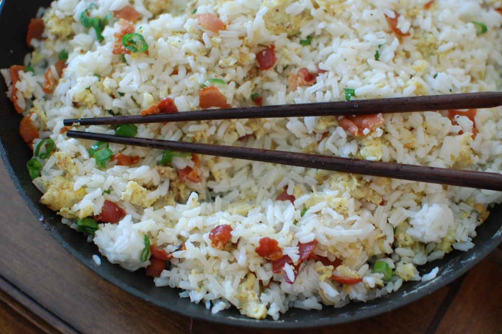 Bacon-and-Egg Rice (1/3)