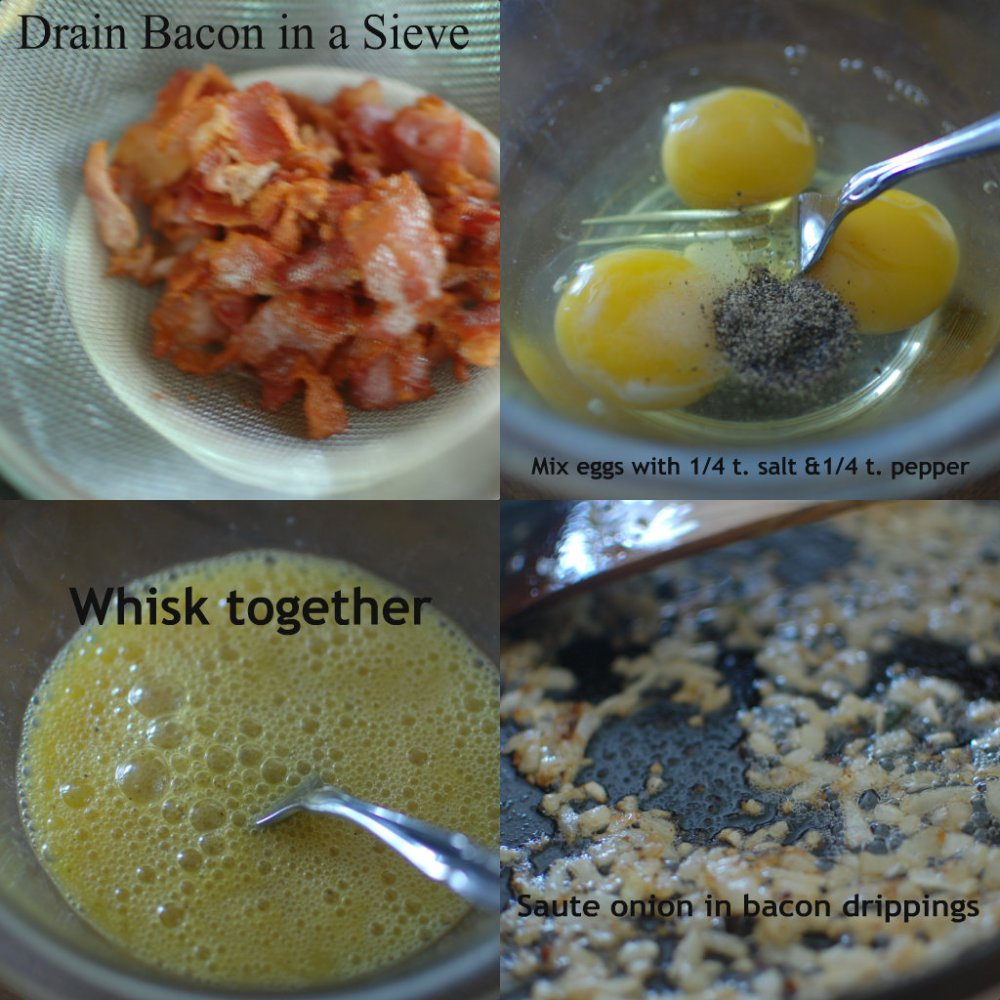 Bacon-and-Egg Rice (2/3)