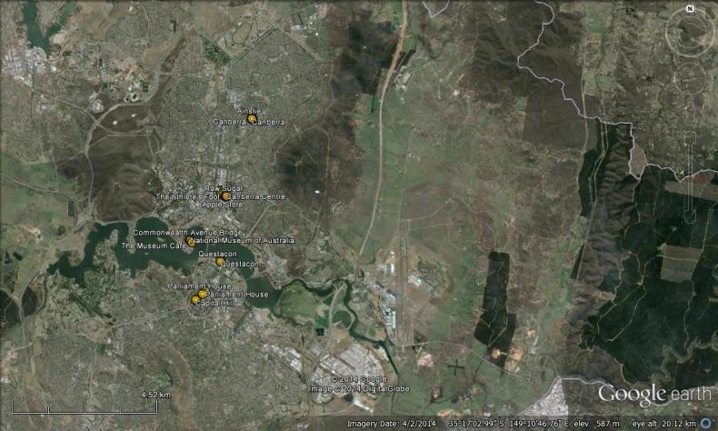 places canberra