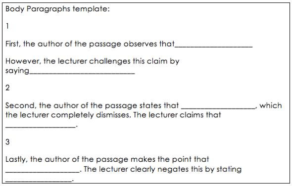 Fancy Toefl Essay Template Motif - Example Resume Ideas ...