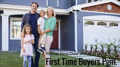 First Time Home Buyer Programs updated 2-2-18