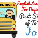 English lesson plan for beginners - Past Simple Of to Be - Focus Vocabulary Jobs