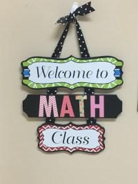 Math Classroom Door Decoration 25 Best Ideas About Math Door